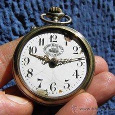 Relojes de bolsillo: ANTIGUO RELOJ DE BOLSILLO *RAILWAY REGULADOR*. Lote 36815388