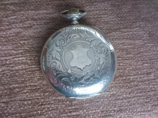 Relojes de bolsillo: RELOJ BESACON, EN PLATA, . - Foto 3 - 36845838