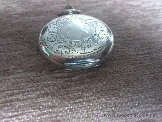 Relojes de bolsillo: RELOJ BESACON, EN PLATA, . - Foto 4 - 36845838