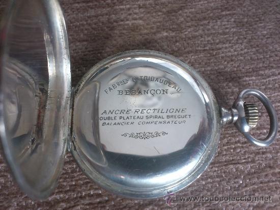 Relojes de bolsillo: RELOJ BESACON, EN PLATA, . - Foto 6 - 36845838