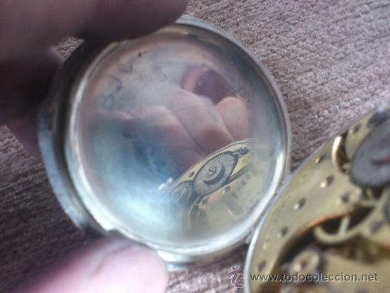 Relojes de bolsillo: RELOJ BESACON, EN PLATA, . - Foto 9 - 36845838