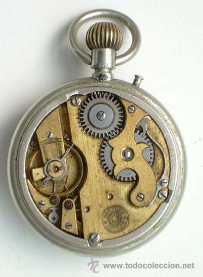 Relojes de bolsillo: ANTIGUO RELOJ ROSKOPF, EN FUNCIONAMIENTO - Foto 4 - 26590557