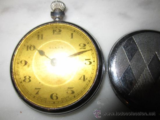 Relojes de bolsillo: Reloj art deco de bolsillo rombos - Foto 2 - 37141766