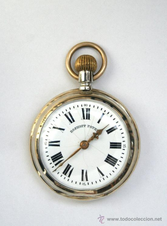 RELOJ -ROSKOPF PATENT-. (Relojes - Bolsillo Carga Manual)