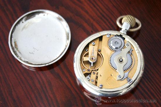 Relojes de bolsillo: Reloj -Roskopf Patent-. - Foto 5 - 37432307