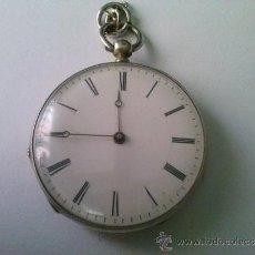 Relojes de bolsillo: RELOJ DE BOLSILLO DE LLAVE. Lote 37875120