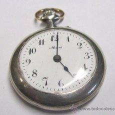 Relojes de bolsillo: PEQUEÑO RELOJ PLATA DE BOLSILLO FUNCIONANDO MARCA - MARS - MEDIDA 3,2 MM.. Lote 38080361