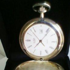 Relojes de bolsillo: RELOJ BOLSILLO PLATA 925 MM AÉREO-WATCH. Lote 39024135
