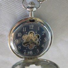 Relojes de bolsillo: RELOJ DE BOLSILLO EN ACERO. Lote 39757134