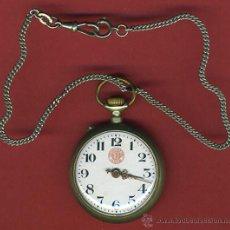Relojes de bolsillo: RELOJ DE BOLSILLO CRONOMETRO , MARCA 1ª PRIMERA VERDAD , FUNCIONANDO , ORIGINAL. Lote 40124342
