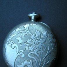 Relojes de bolsillo: CARCASA CRONOMETRO NAVAL POLET.CON TAPA GRABADA ( 2º TAPA- ESPEJO). Lote 40337252