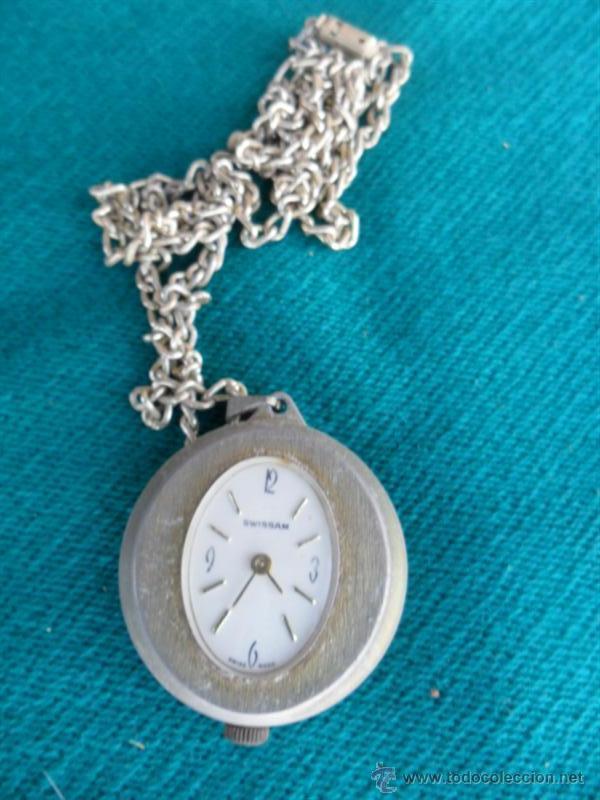 RELOJ CUERDA DE SEÑORA DEL CUELLO (Relojes - Bolsillo Carga Manual)