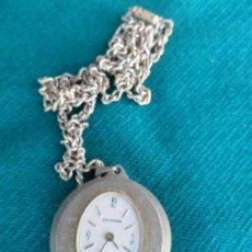 Relojes de bolsillo: RELOJ CUERDA DE SEÑORA DEL CUELLO. Lote 40432270