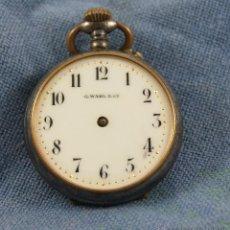 Relojes de bolsillo: EL RELOJ DE HIERRO PARA DECORAR. Lote 40469963