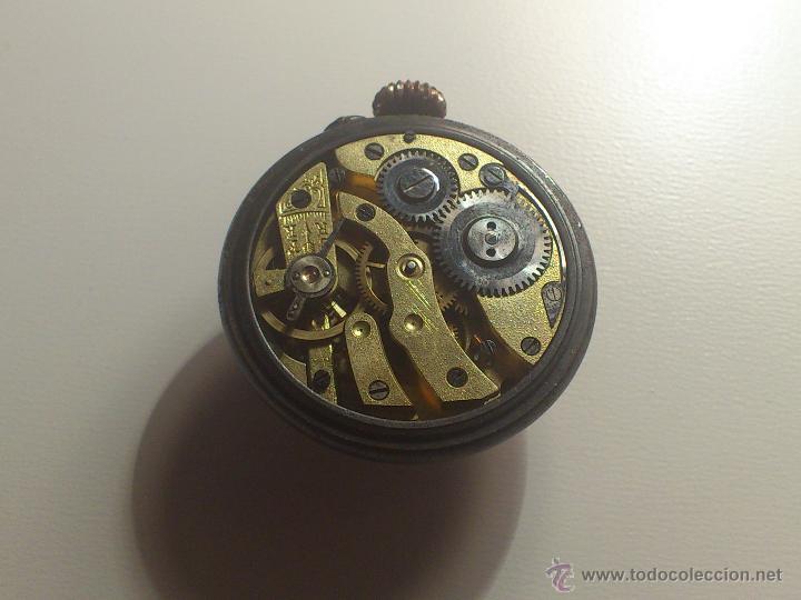 Relojes de bolsillo: Raro reloj de boton. Muy escasos. - Foto 5 - 40631024