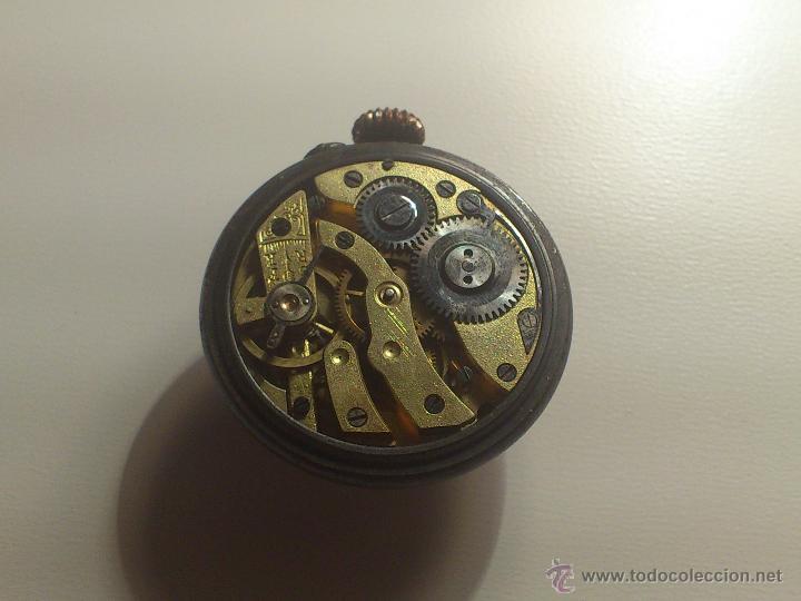 Relojes de bolsillo: Raro reloj de boton. Muy escasos. - Foto 6 - 40631024