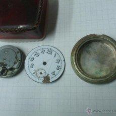 Relojes de bolsillo: ANTIGUO RELOJ DE BOLSILLO ESFERA DE PORCELANA .. PARA PIEZAS. Lote 40706338
