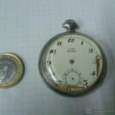 Relojes de bolsillo: RELOJ DE BOLSILLO CUERDA LUX 18 RUBIS. Lote 40730667