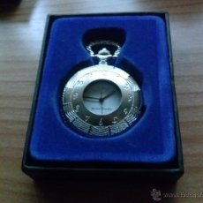 Relojes de bolsillo: RELOJ DE BOLSILLO CARGA MANUAL EN COLOR PLATEADO. NO INCLUYE CADENA. AÑO 1993. Lote 41364810