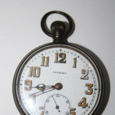 Relojes de bolsillo: RE108 RELOJ TACY WATCH CO MYSTERIA - CAJA METÁLICA - ESFERA PORCELANA - NO FUNCIONA - PRINC. S. XX. Lote 40873018