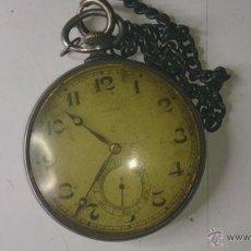 Relojes de bolsillo: RELOJ ANTIGUO DE BOLSILO ZENITH. Lote 41302066