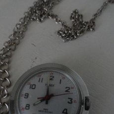 Relojes de bolsillo: RELOJ DE BOLSILLO A CUERDA TIMEX FUNCIONANDO BUEN ESTADO. Lote 41385790