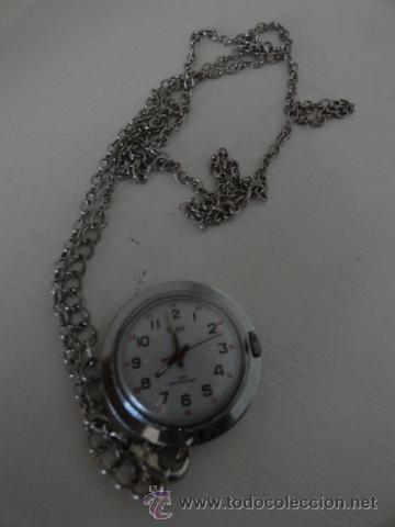 Relojes de bolsillo: RELOJ DE BOLSILLO A CUERDA TIMEX FUNCIONANDO BUEN ESTADO - Foto 2 - 41385790