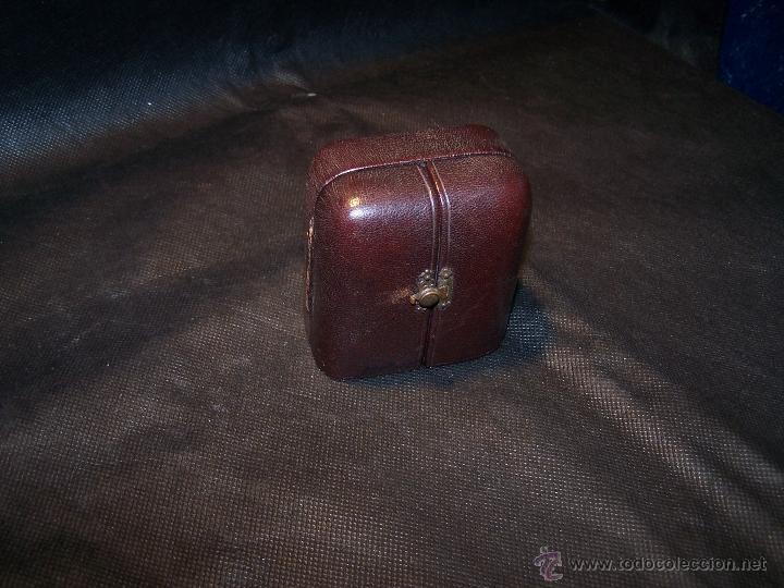 ANTIGUO RELOJ DE ORO LONGINES, AÑO 1905, CON SU LEONTINA DE ORO Y CAJA RELOJERA DE VIAJE (Relojes - Bolsillo Carga Manual)