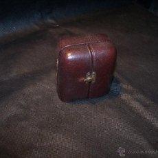 Relojes de bolsillo: ANTIGUO RELOJ DE ORO LONGINES, AÑO 1905, CON SU LEONTINA DE ORO Y CAJA RELOJERA DE VIAJE. Lote 41410262