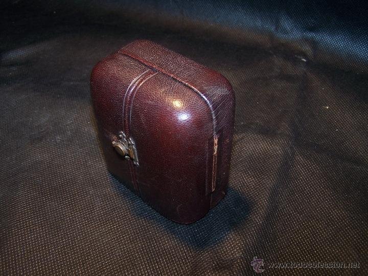 Relojes de bolsillo: ANTIGUO RELOJ DE ORO LONGINES, AÑO 1905, CON SU LEONTINA DE ORO Y CAJA RELOJERA DE VIAJE - Foto 2 - 41410262