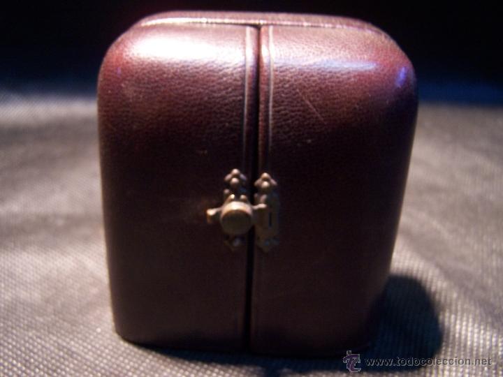 Relojes de bolsillo: ANTIGUO RELOJ DE ORO LONGINES, AÑO 1905, CON SU LEONTINA DE ORO Y CAJA RELOJERA DE VIAJE - Foto 3 - 41410262