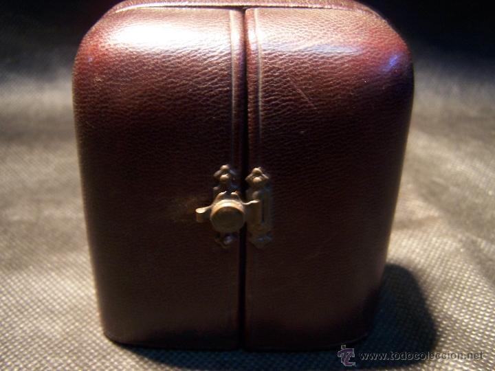 Relojes de bolsillo: ANTIGUO RELOJ DE ORO LONGINES, AÑO 1905, CON SU LEONTINA DE ORO Y CAJA RELOJERA DE VIAJE - Foto 12 - 41410262