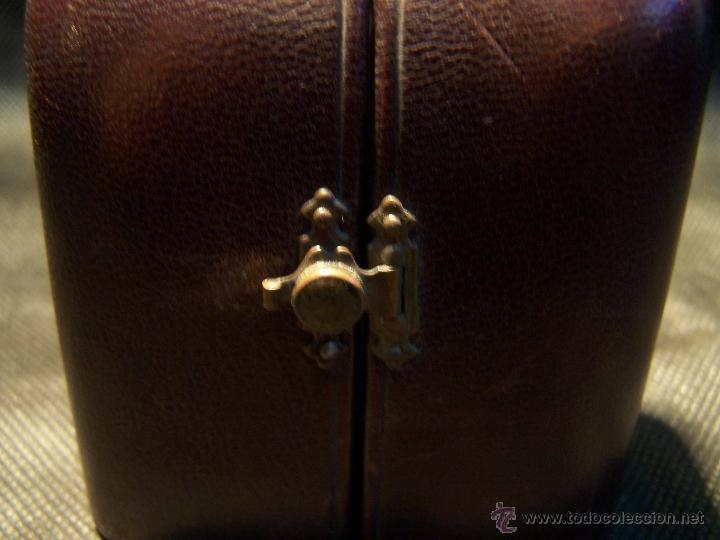 Relojes de bolsillo: ANTIGUO RELOJ DE ORO LONGINES, AÑO 1905, CON SU LEONTINA DE ORO Y CAJA RELOJERA DE VIAJE - Foto 13 - 41410262