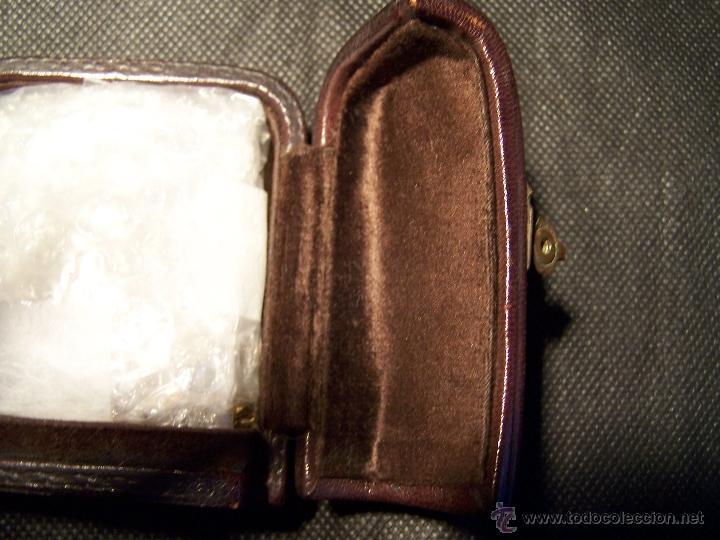 Relojes de bolsillo: ANTIGUO RELOJ DE ORO LONGINES, AÑO 1905, CON SU LEONTINA DE ORO Y CAJA RELOJERA DE VIAJE - Foto 16 - 41410262