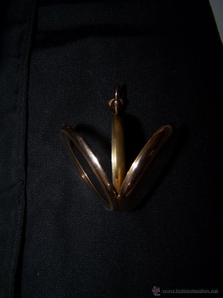 Relojes de bolsillo: ANTIGUO RELOJ DE ORO LONGINES, AÑO 1905, CON SU LEONTINA DE ORO Y CAJA RELOJERA DE VIAJE - Foto 73 - 41410262