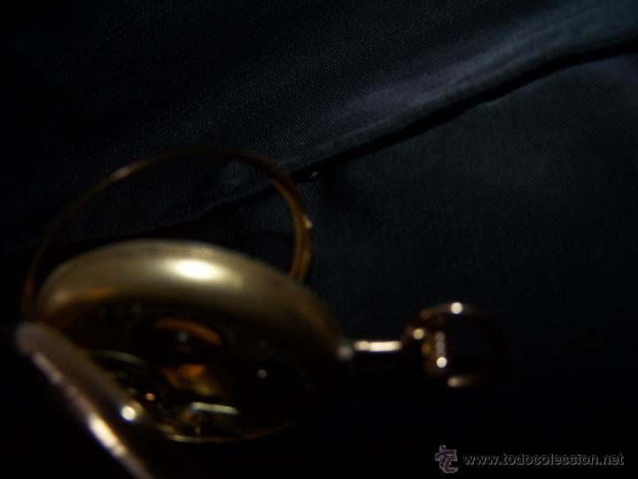 Relojes de bolsillo: ANTIGUO RELOJ DE ORO LONGINES, AÑO 1905, CON SU LEONTINA DE ORO Y CAJA RELOJERA DE VIAJE - Foto 76 - 41410262