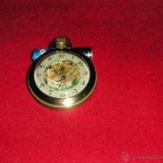 Relojes de bolsillo: RELOJ DE BOLSILLO RUSO MECANICO, CURIOSO Y FUNCIONANDO BIEN. Lote 42163910