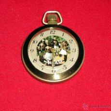 Relojes de bolsillo: RELOJ RUSO MECANICO, CURIOSO Y FUNCIONANDO BIEN. Lote 42163963