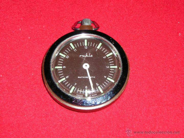 RELOJ DE LA ANTIGUA GDR.BOLSILLO A CUERDA FUNCIONANDO PERFECTAMENTE (Relojes - Bolsillo Carga Manual)