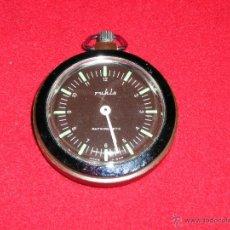 Relojes de bolsillo: RELOJ DE LA ANTIGUA GDR.BOLSILLO A CUERDA FUNCIONANDO PERFECTAMENTE. Lote 42164004