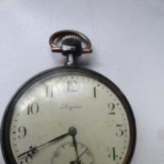 Relojes de bolsillo: BONITO RELOJ DE BOLSILLO LONGINES 5CM DIAMETRO FUNCIONANDO CORRECTAMENTE. Lote 42185542