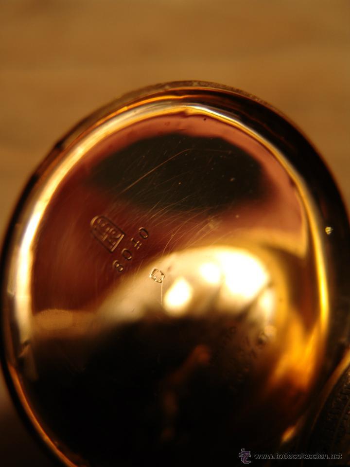 Relojes de bolsillo: PRECIOSO RELOJ ANTIGUO DE BOLSILLO ORO 18K.WALTHAM,MASS. 15 JEWELS. - Foto 3 - 42391981