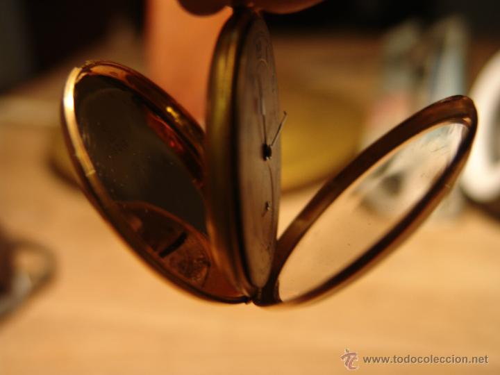 Relojes de bolsillo: PRECIOSO RELOJ ANTIGUO DE BOLSILLO ORO 18K.WALTHAM,MASS. 15 JEWELS. - Foto 5 - 42391981