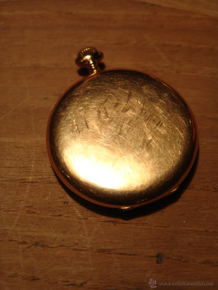 Relojes de bolsillo: PRECIOSO RELOJ ANTIGUO DE BOLSILLO ORO 18K.WALTHAM,MASS. 15 JEWELS. - Foto 6 - 42391981
