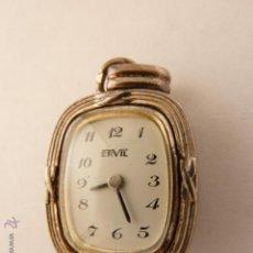 Relojes de bolsillo: RELOJ COLGANTE DE SEÑORA, ERVIL. Lote 42536143
