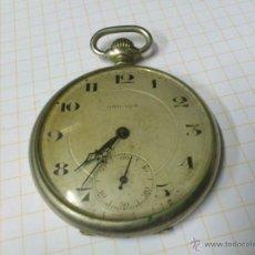 Relojes de bolsillo: RELOJ DE BOLSILLO OMICRON BUEN TAMAÑO (PARA REPARAR). Lote 42575335