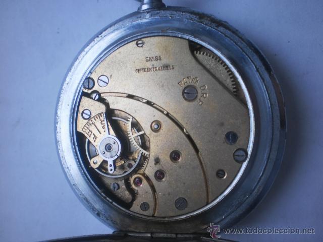 Relojes de bolsillo: Reloj swiss para Tercer REICH ..Funciona - Foto 3 - 42803723