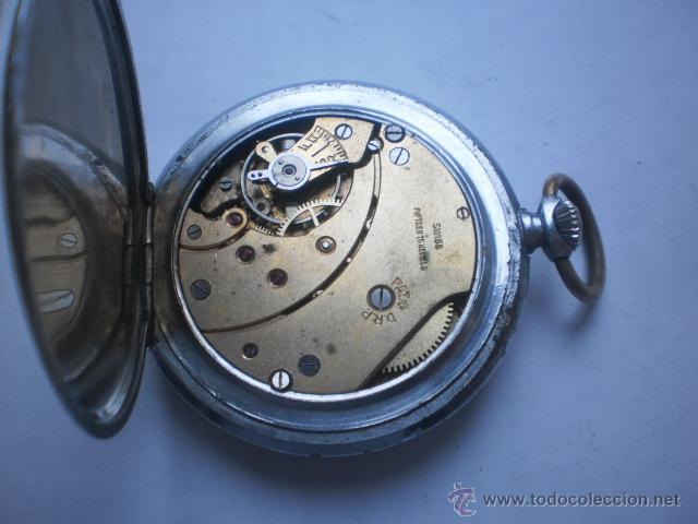 Relojes de bolsillo: Reloj swiss para Tercer REICH ..Funciona - Foto 4 - 42803723