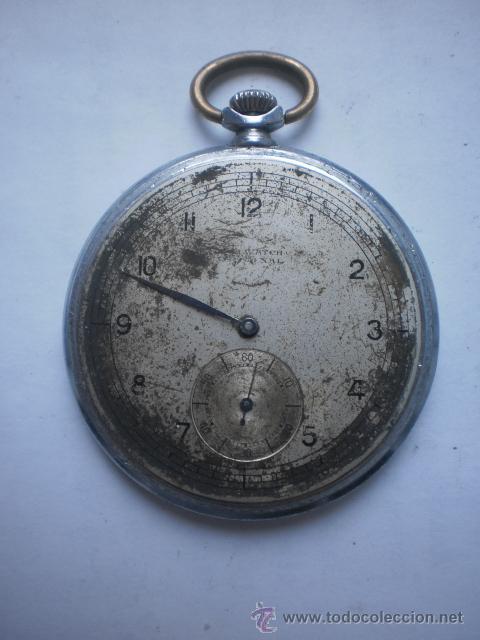 Relojes de bolsillo: Reloj swiss para Tercer REICH ..Funciona - Foto 5 - 42803723