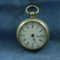 Relojes de bolsillo: RELOJ DE BOLSILLO CURIOSA PINTURA EN TRASERA. Lote 43253672